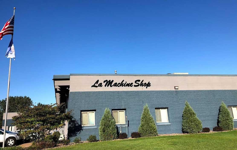 The exterior of La Machine Shop