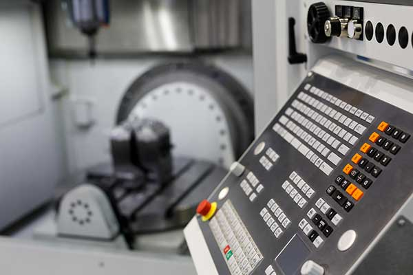 A clean, modern manufacturing shop